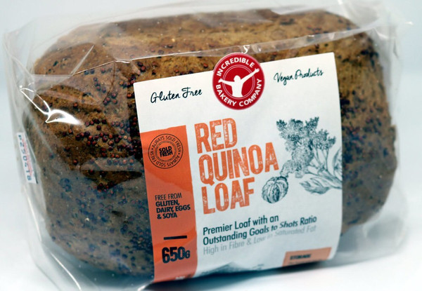Red Quinoa Loaf - Bundle of 8