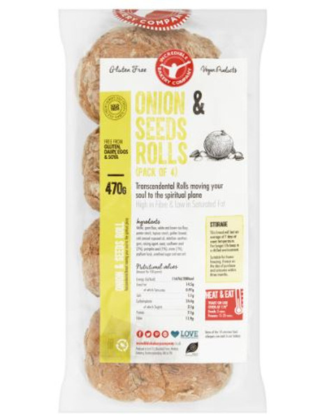 Onion & Seeds Rolls (Pack of 4)