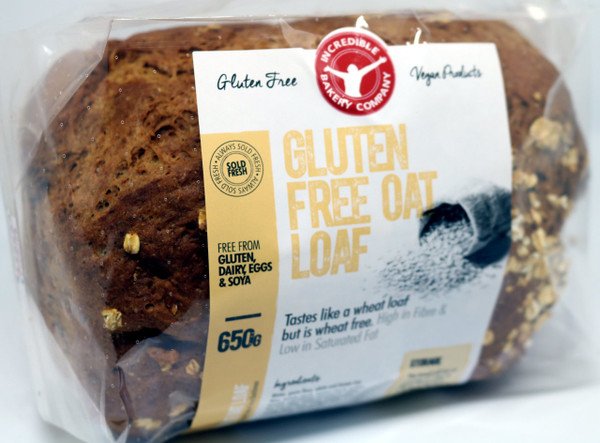 Incredible Gluten Free Oat Loaf