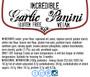 Garlic Panini (2 packs of 4)