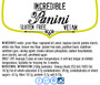 Panini (24 in packs of 4)