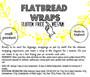 Flat Bread Wrap (50 in Packs of 10)