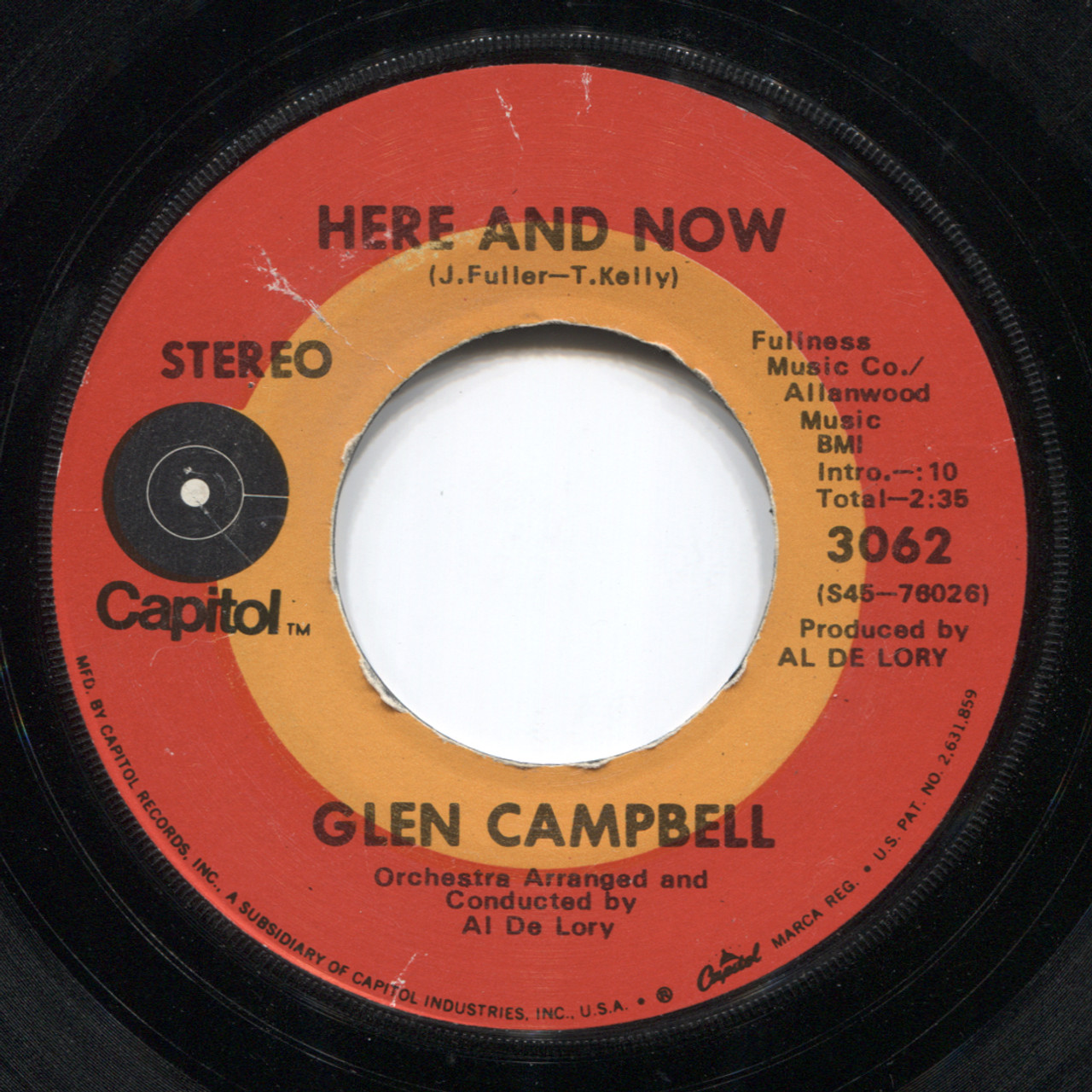 Glen Campbell: Here and Now / Dream Baby (How Long Must I Dream) - 7