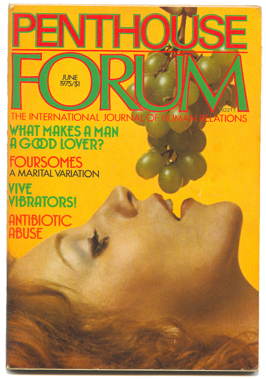 1975 June Penthouse Forum Magazine - Vintage Mens Adult -6489