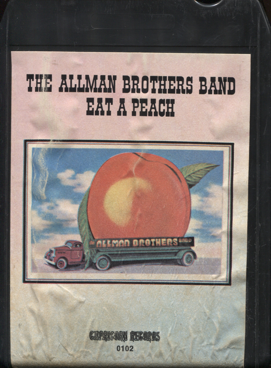 The Allman Brothers Band: Eat a Peach - 8 Track Tape