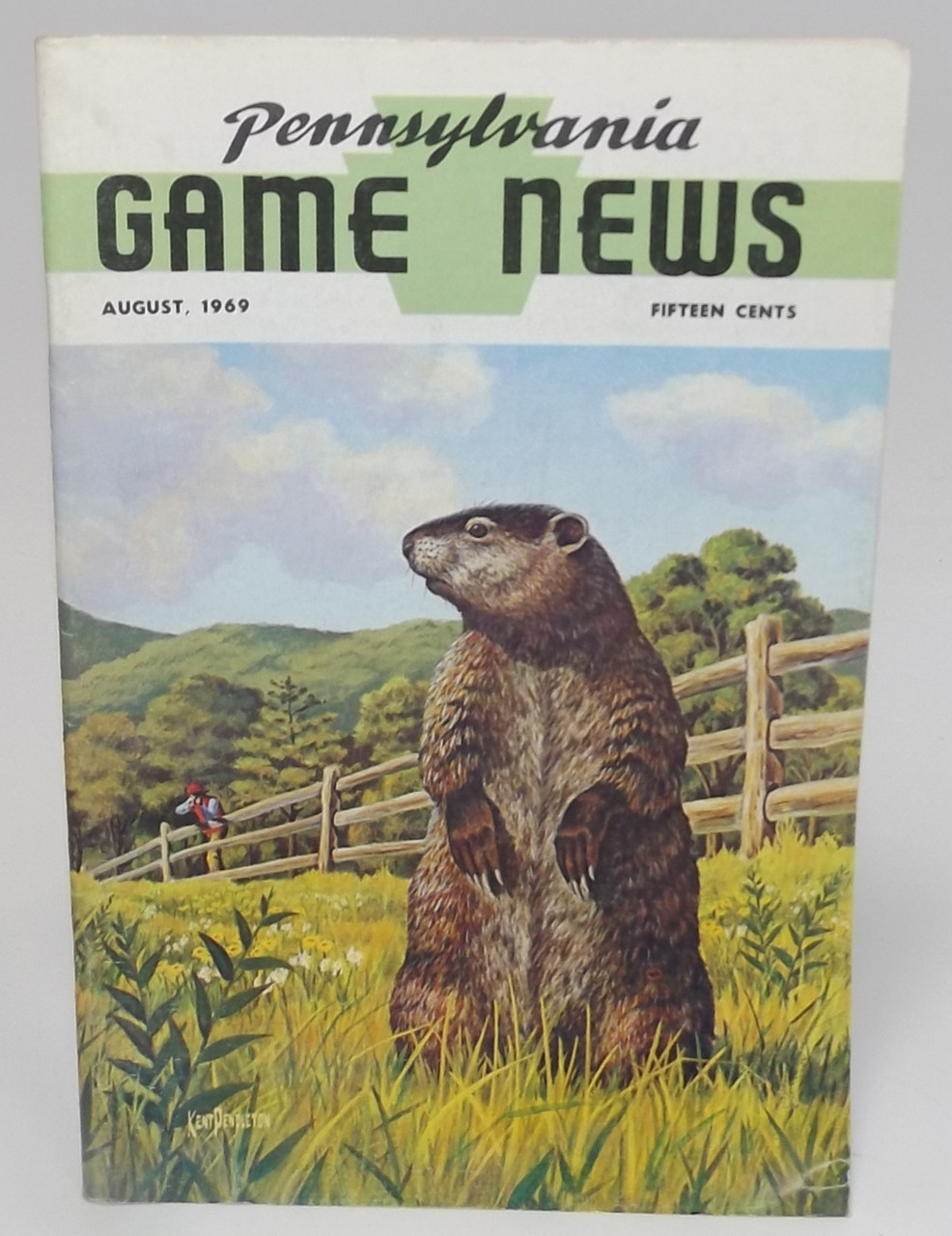 August 1969, Pennsylvania Game News Magazine - Back Issue Vintage PA Game  Commission Magazine