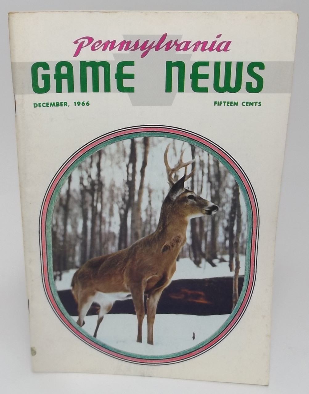 December 1966, Pennsylvania Game News Magazine - Back Issue Vintage PA Game  Commission Magazine