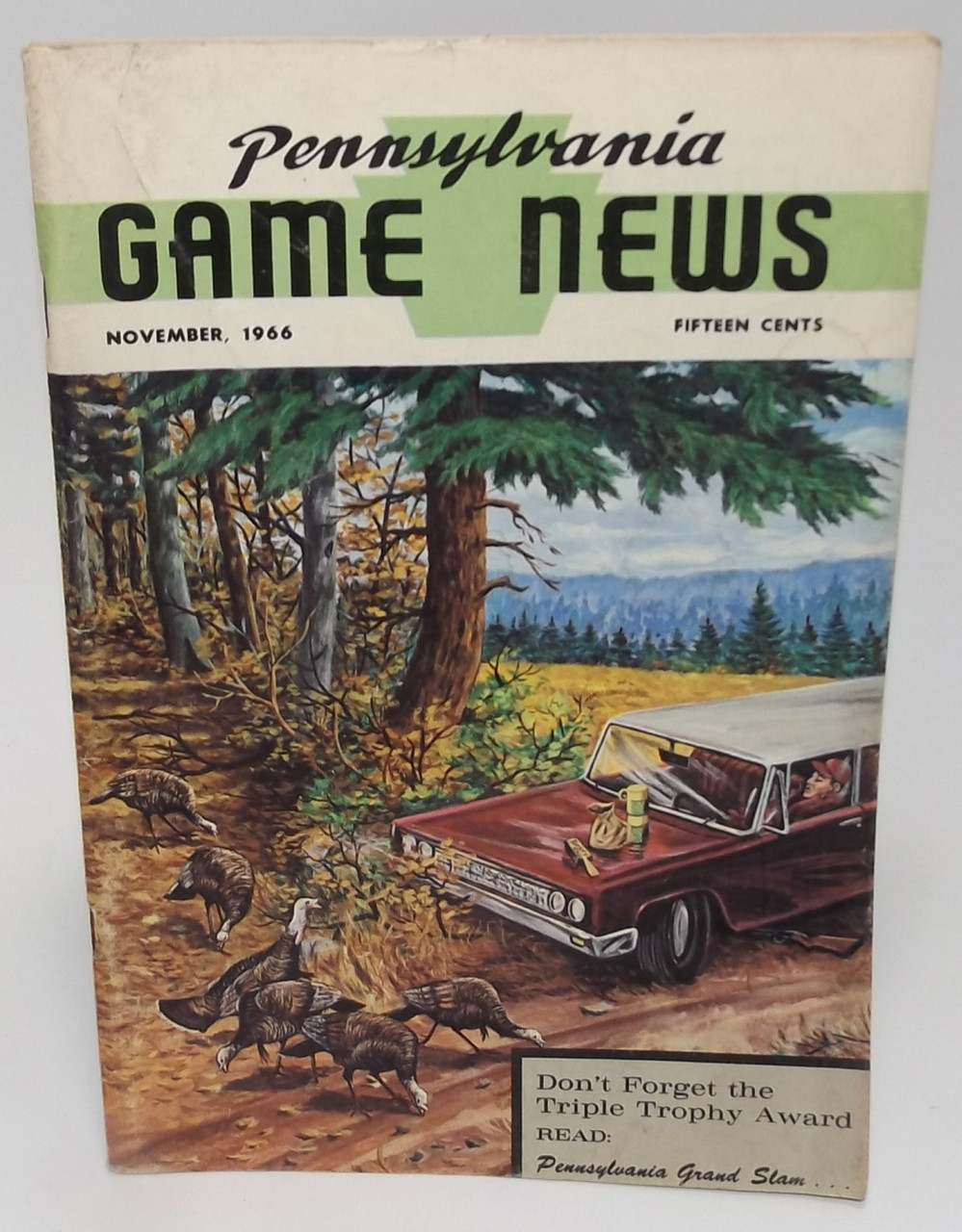 November 1966, Pennsylvania Game News Magazine - Back Issue Vintage PA Game  Commission Magazine