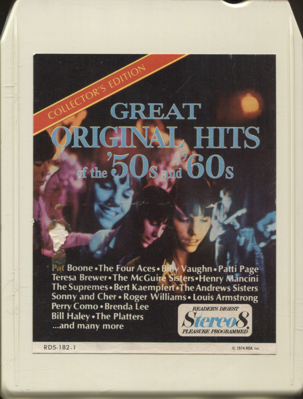 Reader's Digest Great Original Hits of the 20's & 20's   Tape 20 20 Track Tape