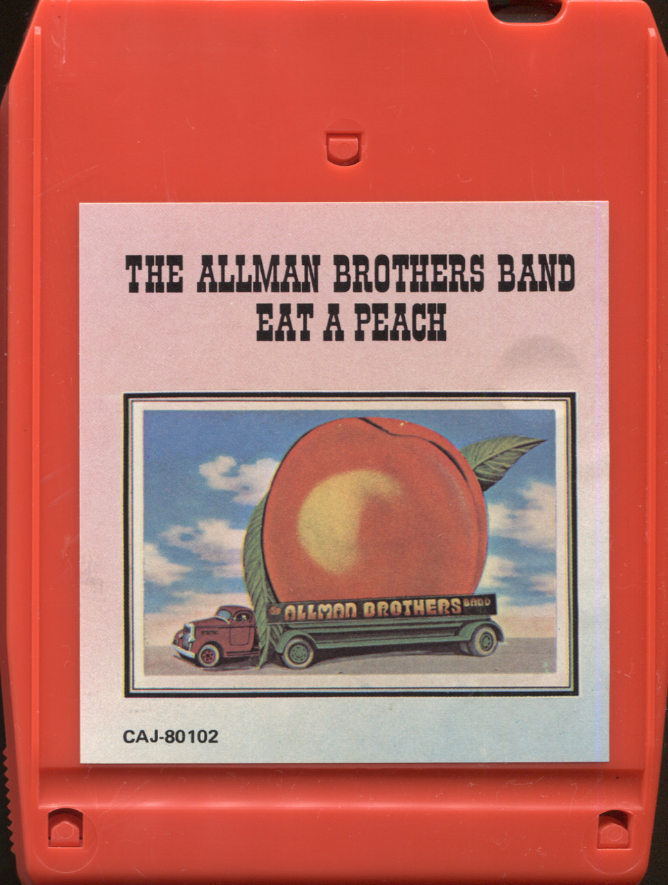 The Allman Brothers Band: Eat a Peach -30694 8 Track Tape