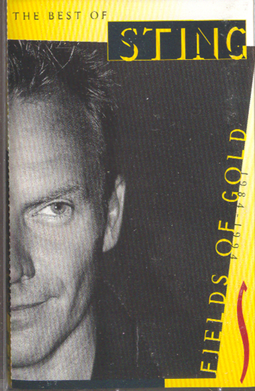 Sting: Fields of Gold - The Best of Sting Cassette Tape