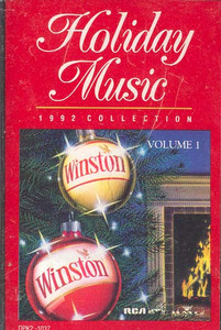 Winston Holiday Music 1992 Collection (Christmas Collector Album) Cassette Tape