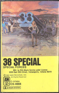 .38 SPECIAL: Special Forces -5669 Cassette Tape