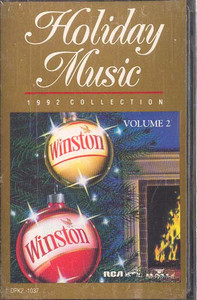 Winston Holiday Music 1992 Christmas Collection Cassette Tape
