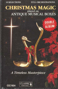 Christmas Magic Played on Antique Musical Machines Cassette Tape