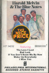 HAROLD MELVIN & THE BLUE NOTES: Collector's Item Cassette Tape