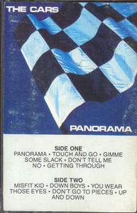 THE CARS: Panorama -29591 Cassette Tape