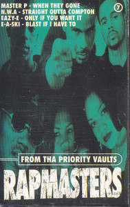 Rapmasters - From Tha Priority Vaults Cassette Tape