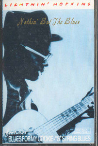 LIGHTNIN' HOPKINS: Nothin' but the Blues -19847 Cassette Tape