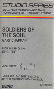 GARY CHAPMAN: Soldiers Of The Soul Cassette Tape