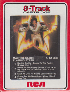 Maurice Starr: Flaming Starr  8 Track Tape