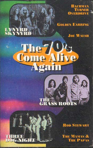 The 70's Come Alive Again -29276 Cassette Tape