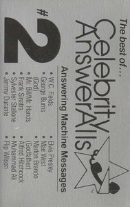 The Best of Celebrity Answer Alls #2 - Answering Machine Messages Cassette Tape