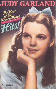 JUDY GARLAND: The Best of the Decca Years - #One Cassette Tape