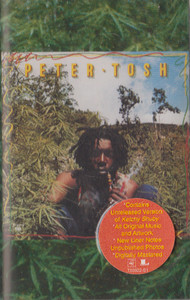 Peter Tosh: Legalize It Cassette Tape