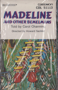 Madelin and Other Bemelmans - Told by Carol Channing Cassette Tape