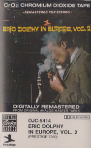 Eric Dolphy: In Europe - #2 -13443 Cassette Tape