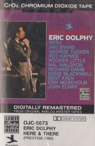 Eric Dolphy: Here & There -13439 Cassette Tape
