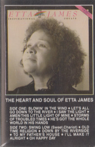 Etta James: The Heart and Soul of Etta James -13484 Cassette Tape