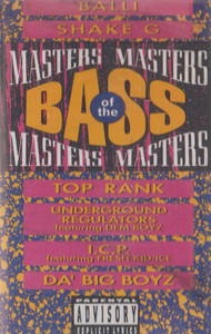 Masters of the Bass Cassette Tape