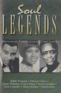 Soul Legends Cassette Tape