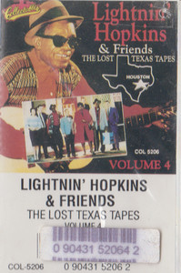 Lightnin' Hopkins & Friends: The Lost Texas Tapes - #4 -19843 Cassette Tape