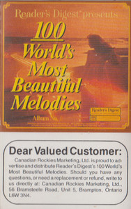 100 World's Most Beautiful Melodies - #3 -5732 Cassette Tape