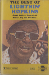Lightnin' Hopkins: The Best of Lightnin' Hopkins Cassette Tape