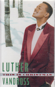 Luther Vandross: This is Christmas -20714 Cassette Tape