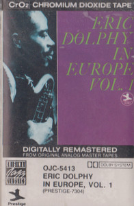 Eric Dolphy: In Europe - #1 -13440 Cassette Tape