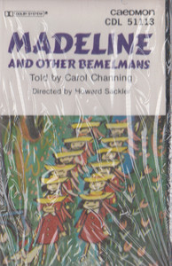 Madeline and Other Bemelmans - Told by Carol Channing -20822 Cassette Tape