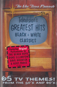 Television's Greatest Hits, #4 - Black & White Classics -29161 Cassette Tape