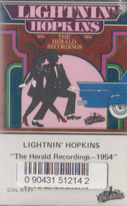 Lightnin' Hopkins: The Herald Recordings - 1954 Cassette Tape