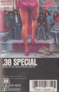 .38 Special: Wild-Eyed Southern Boys -5693 Cassette Tape