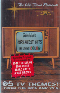 Television's Greatest Hits in Living Color, TV Themes of the 60's & 70's - #5 Cassette Tape