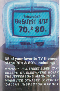 Television's Greatest Hits 70's & 80's -29154 Cassette Tape