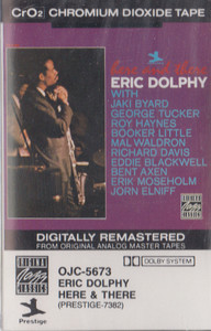 Eric Dolphy: Here & There -13438 Cassette Tape
