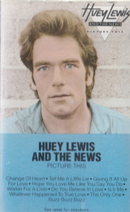 Huey Lewis & the News: Picture This -16263 Cassette Tape