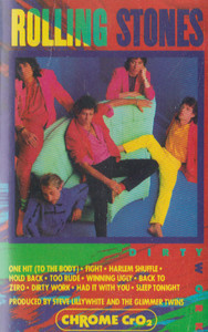 The Rolling Stones: Dirty Work -30898 Cassette Tape