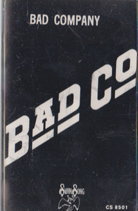 Bad Company: Bad Co. Cassette Tape